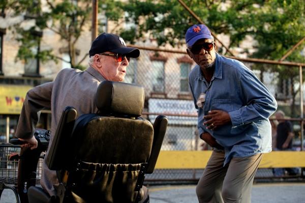 Michael Caine, Morgan Freeman