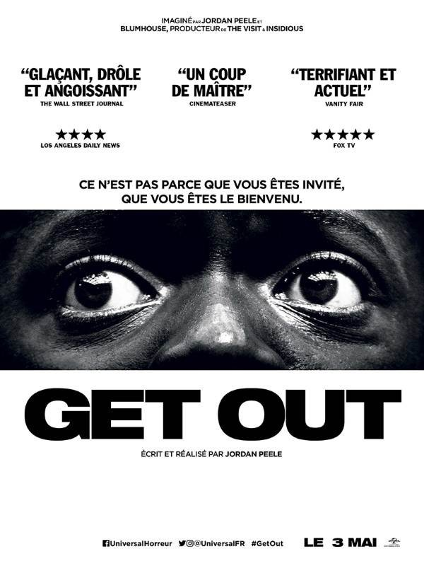 Get Out, Affiche