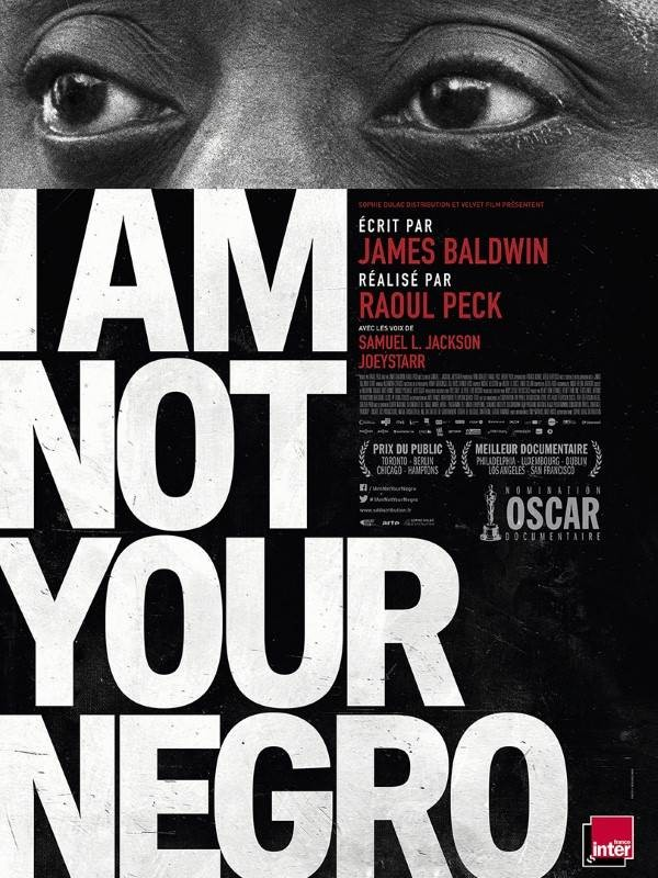 I Am Not Your Negro, Affiche