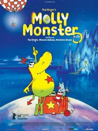 Molly Monster, Affiche