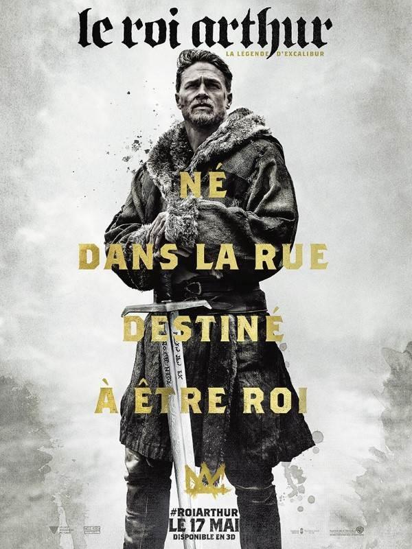 Le roi Arthur : la légende d'Excalibur, Affiche