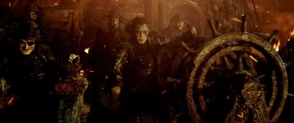 Javier Bardem (au centre), personnages