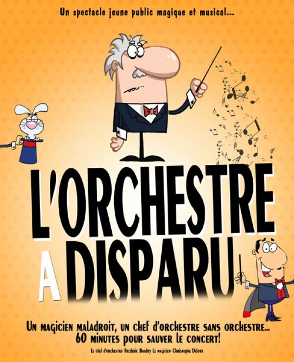 L'Orchestre a disparu : Affiche