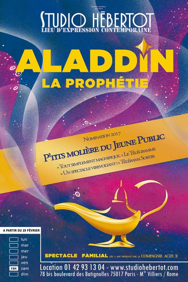 Aladdin, la prophétie au Studio Hébertot