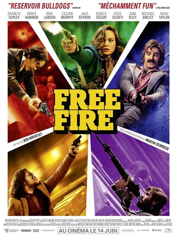Free Fire, Affiche