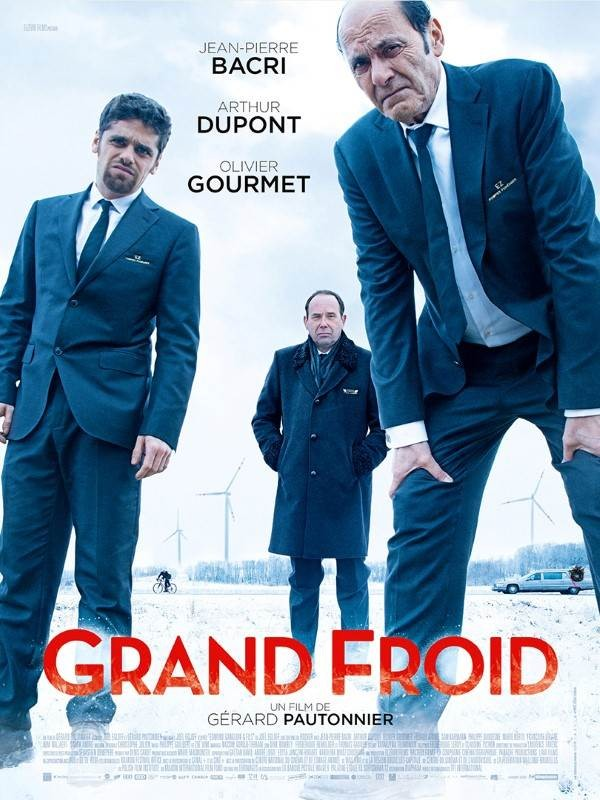 Grand froid, Affiche