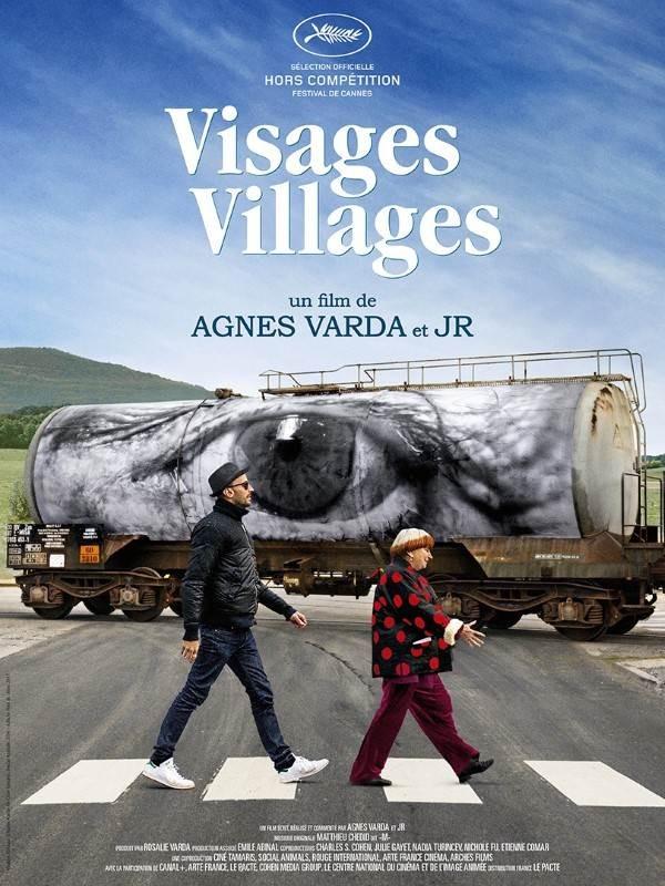 Visages, villages, Affiche