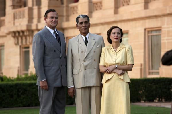 Hugh Bonneville, Denzil Smith (Muhammad Ali Jinnah), Gillian Anderson