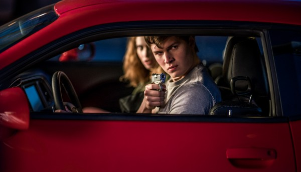 Lily James, Ansel Elgort