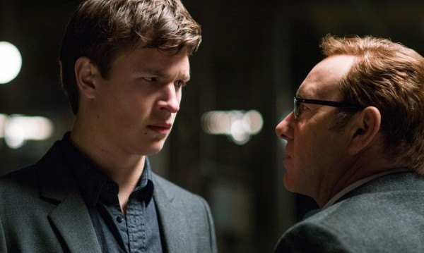 Ansel Elgort, Kevin Spacey