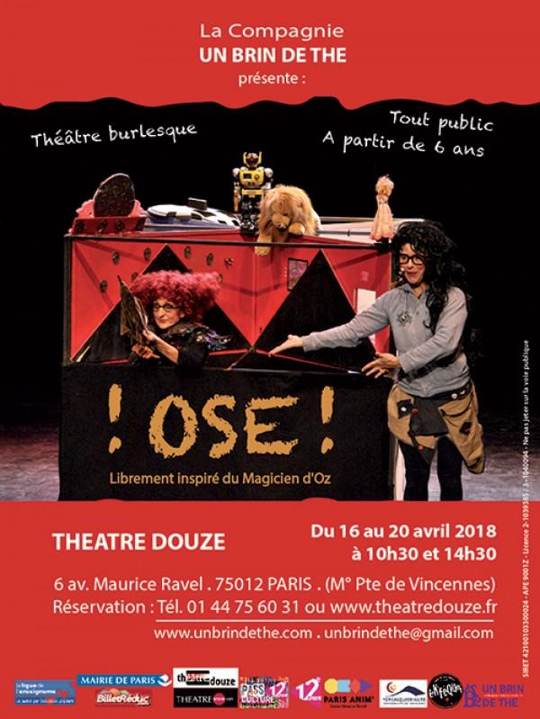 Ose ! au Théâtre Douze