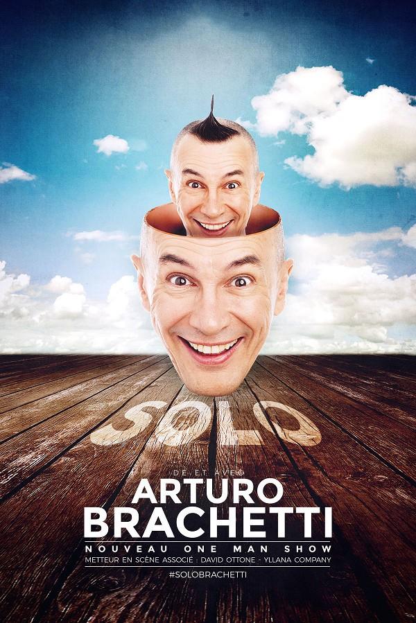Arturo Brachetti : Solo - Affiche