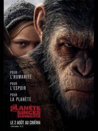 La Planète des singes : Suprématie, Affiche