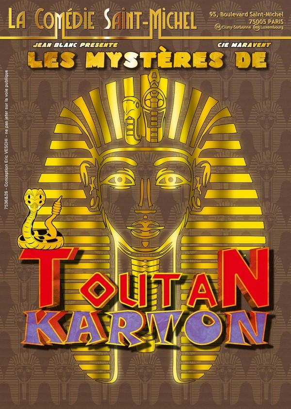 Les Mystères de Toutan Karton à la Comédie Saint-Michel