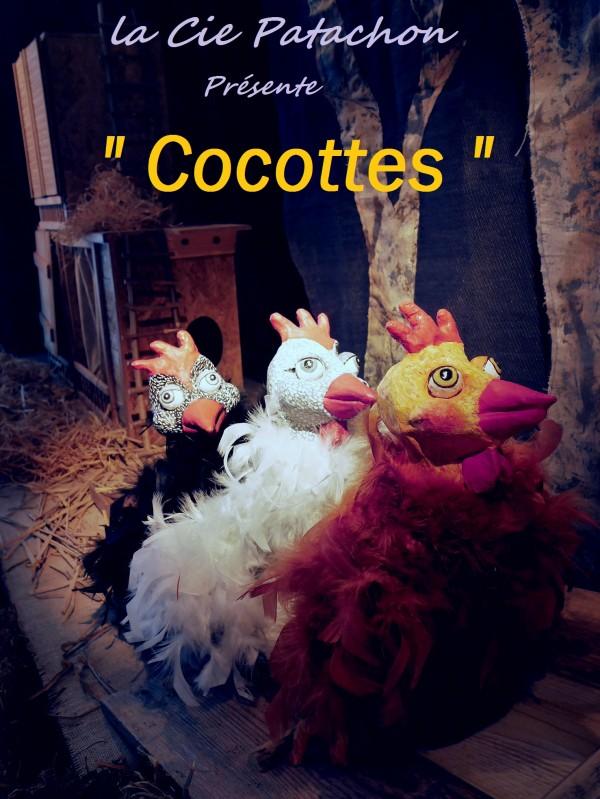 Cocottes à l'Aktéon Théâtre : Affiche