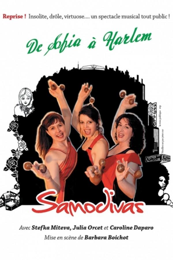 Les Samodivas : de Sofia à Harlem - Affiche