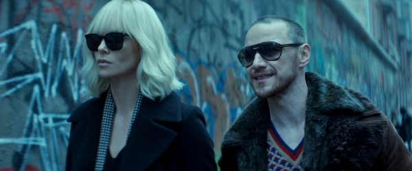 Charlize Theron, James McAvoy