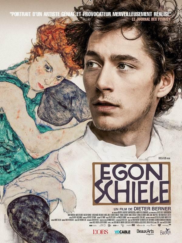 Egon Schiele, Affiche