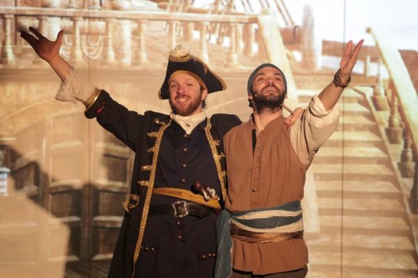 Pirate ou corsaire, les aventures de Quentin