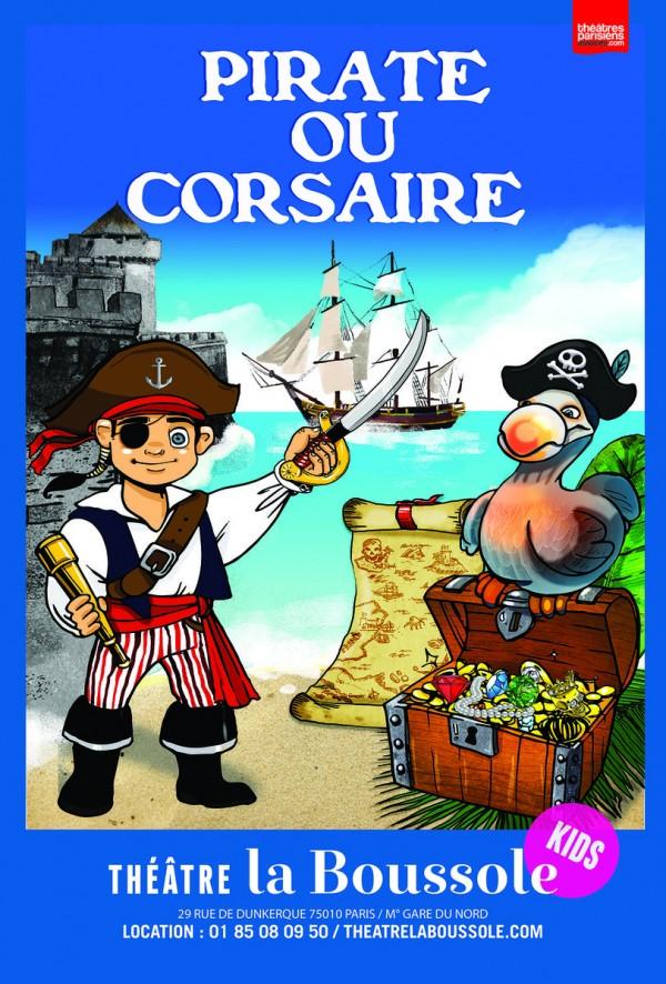 Pirate ou corsaire, les aventures de Quentin au Théâtre La Boussole
