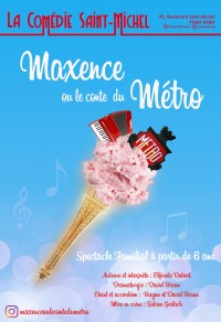 Maxence ou le conte du métro à la Comédie Saint-Michel