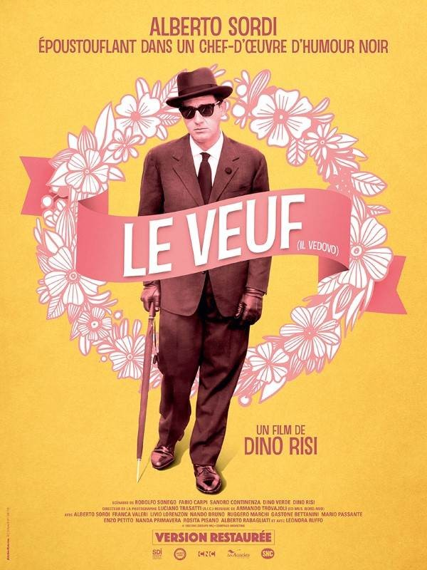 Le veuf, Affiche version restaurée