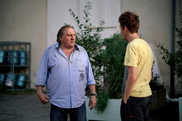 Gérard Depardieu,  Benjamin Voisin (Thomas)