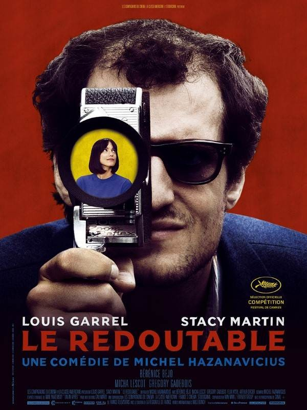 Le Redoutable, Affiche