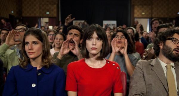 Stacy Martin (au centre)