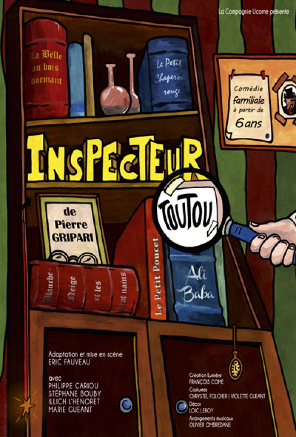 Le Nouvel inspecteur Toutou - Affiche