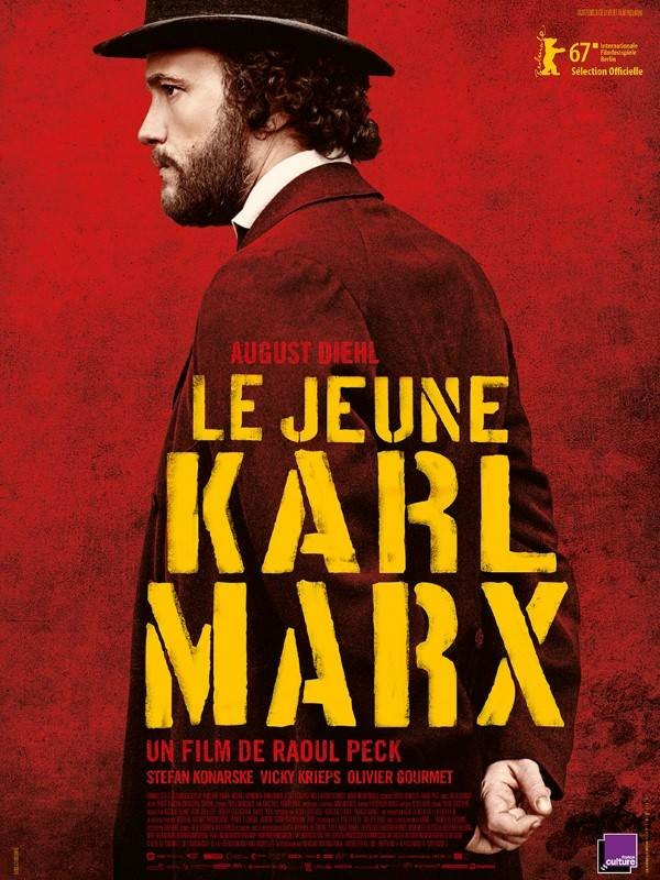 Le Jeune Karl Marx, Affiche