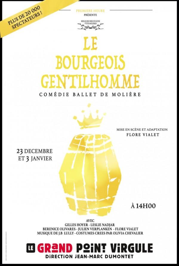 Le Bourgeois Gentilhomme au Grand Point Virgule
