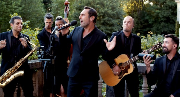 Gilles Lellouche (au centre), personnages