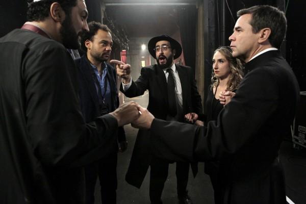 Ramzy Bedia, Fabrice Eboué, Jonathan Cohen, Audrey Lamy, Guillaume De Tonquédec
