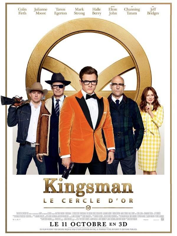 Kingsman : Le Cercle d'or, Affiche