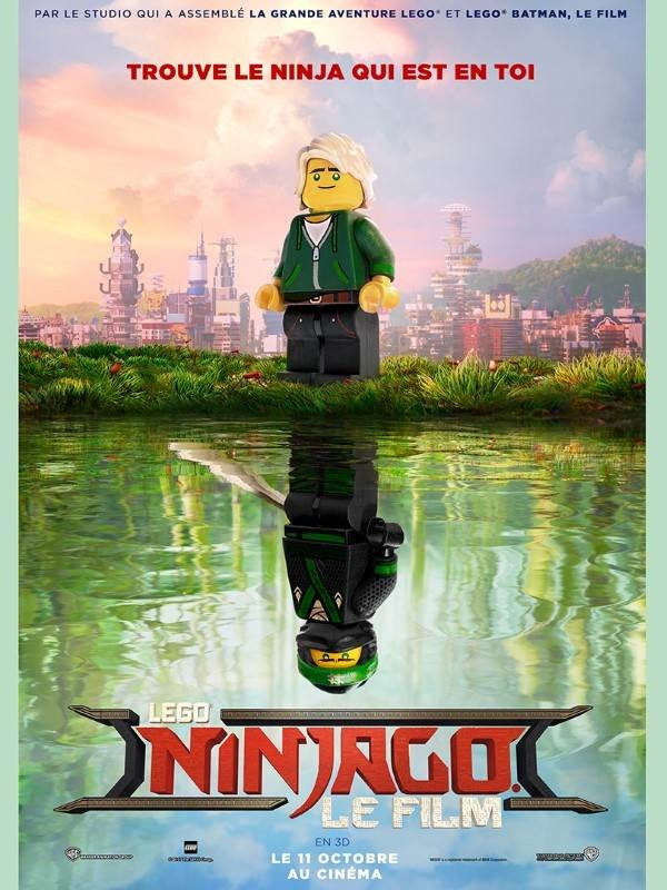 Lego Ninjago : le film, Affiche