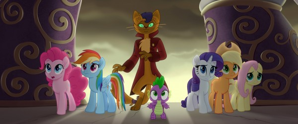 Pinkie Pie, Rainbow Dash, Capper, Spike, Rarity, Applejack, Fluttershy