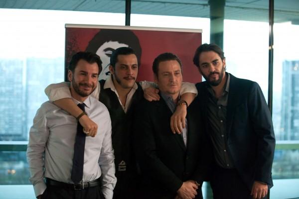 Michaël Youn, Idir Chender, Benoît Magimel, Gringe