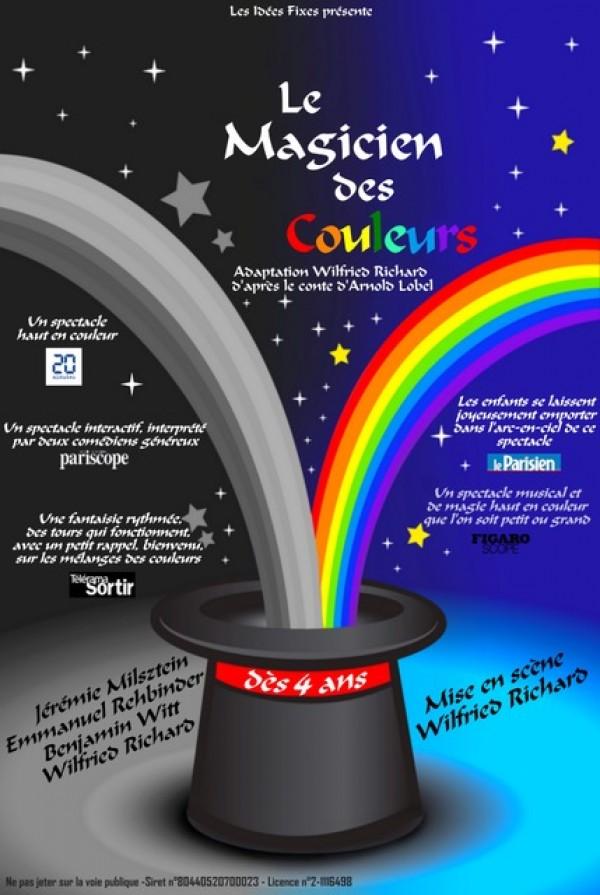 Le Magicien des couleurs - Affiche