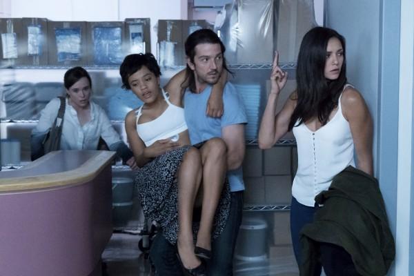 Ellen Page, Kiersey Clemons, Diego Luna, Nina Dobrev