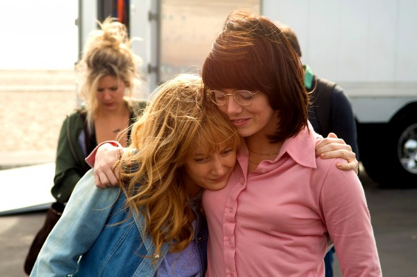 Andrea Riseborough, Emma Stone
