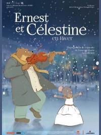 Ernest et Célestine en hiver, Affiche