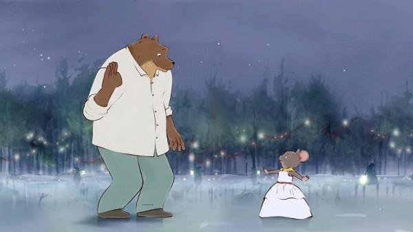 """Ernest et Célestine dans """"Le Bal des souris"""""""