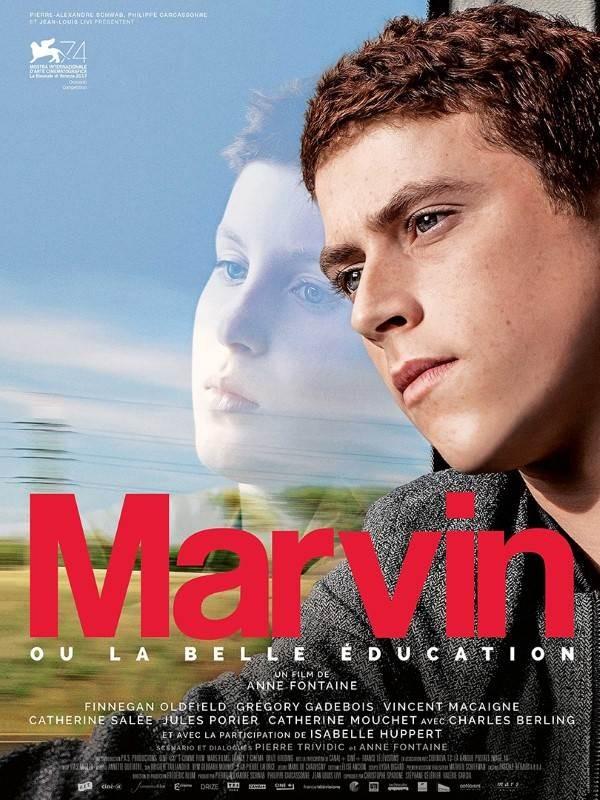 Marvin ou la belle éducation, Affiche