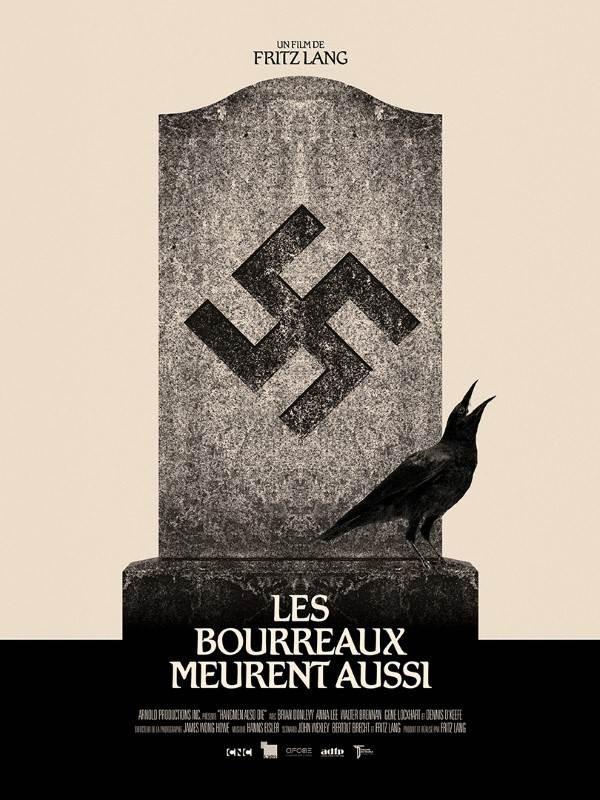 Les Bourreaux meurent aussi (version intégrale), Affiche version restaurée
