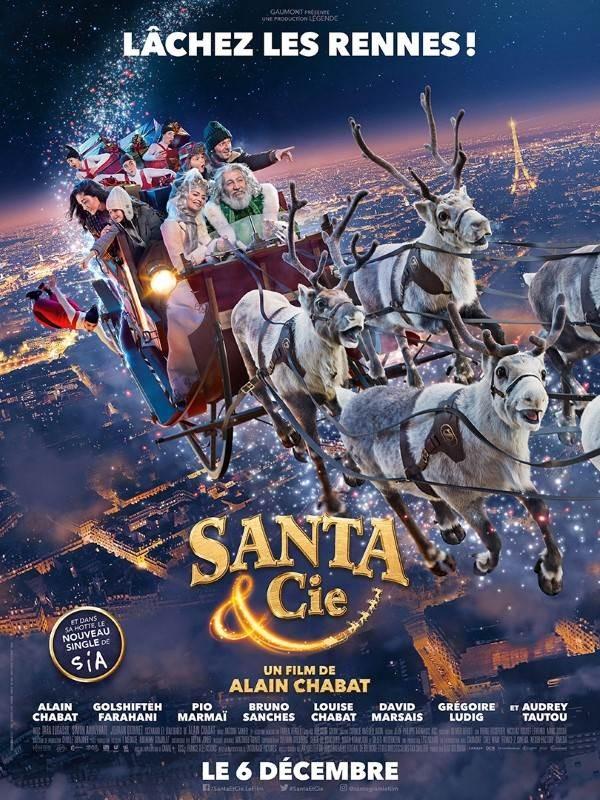 Santa & Cie, Affiche