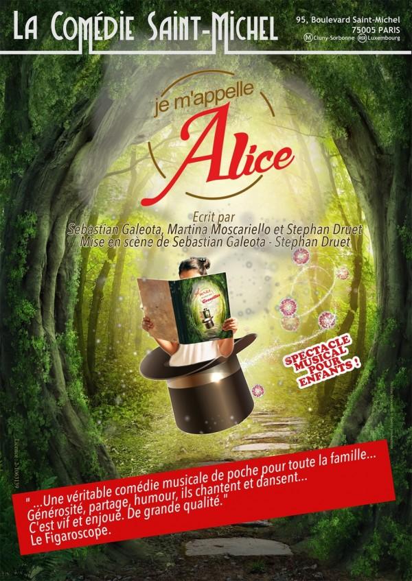 Je m'appelle Alice à la Comédie Saint-Michel