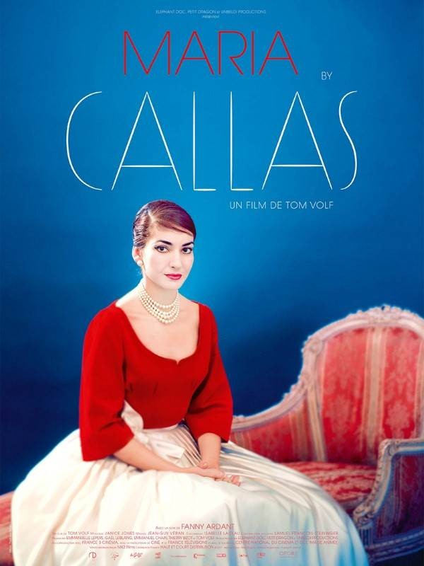 Maria by Callas, Affiche