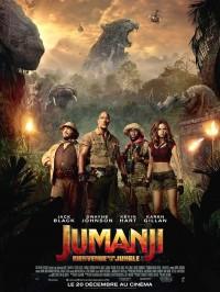 Jumanji : bienvenue dans la jungle, Affiche