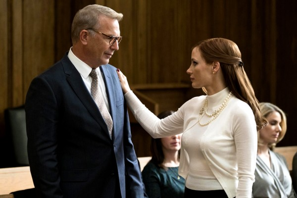 Kevin Costner, Jessica Chastain